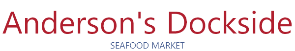 Anderson's Dockside Seafood Market logo in Panama City Beach Florida