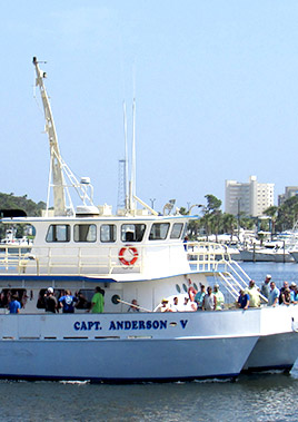 Book a fishing trip or tour on Capt. Anderson IV in Panama City beach Florida