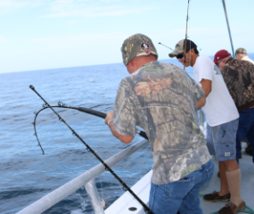 Book a 10 hour all-day fishing trip in Panama City, Florida with Capt Anderson's Marina
